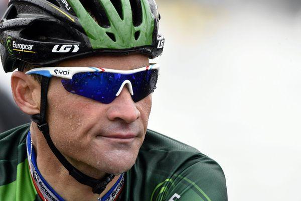 Thomas Voeckler ici lors du tour de France 2014.