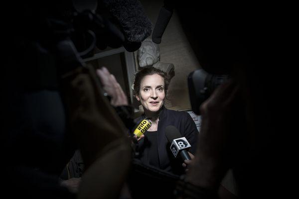 Nathalie Kosciusko-Morizet dans la salle des quatre colonnes, à l'Assemblée Nationale, le mardi 14 mai 2013.