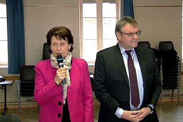 Mari-Françoise Pérol-Dumont et Jean-Claude Leblois