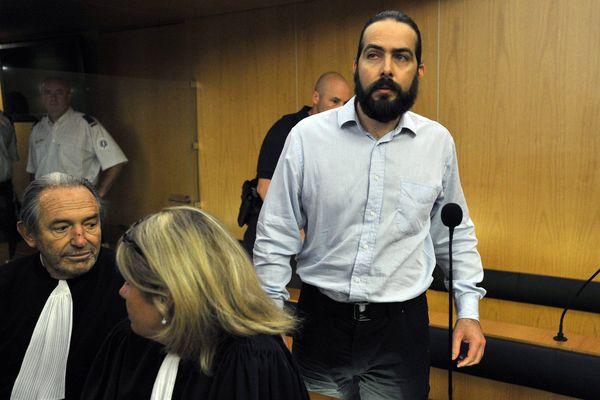 Troisième jour du procès d'assises de Sylvain Jouanneau (photo) le père de Mathis
