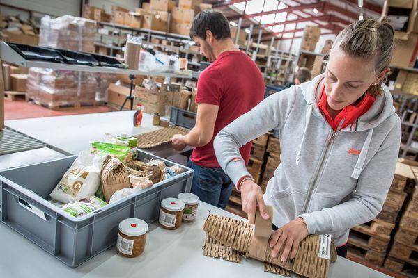 La start-up aveyronnaise Aurore Market propose plus de 3 000 produits bio en ligne