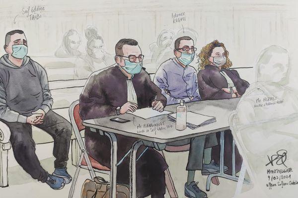 En ce troisième jour de procès, plusieurs témoins ont été entendus à la cour d'Assises de Montpellier.