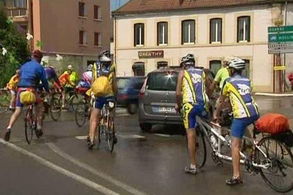 La 76ème Semaine fédérale internationale de cyclotourisme a débuté dimanche 3 août dans l'Allier.