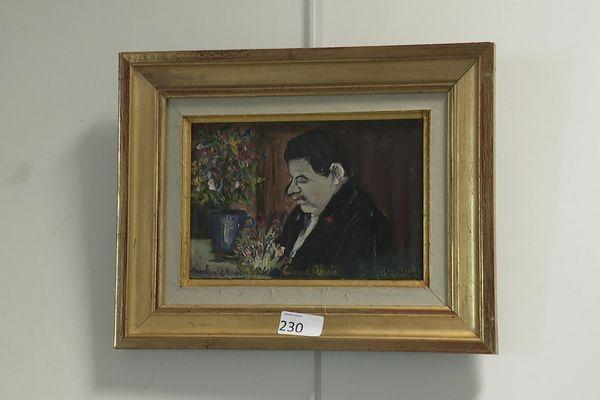 Le portrait d'Edouard Herriot, peint par Maurice Utrillo en 1935, a été adjugé à 7 400 euros