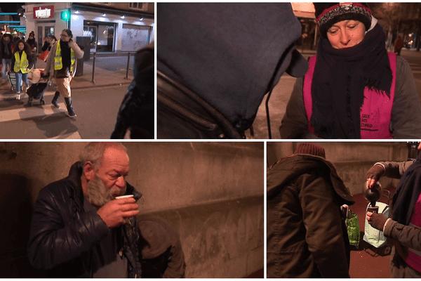 Tous les mercredis, le collectif organise une maraude dans les rues de Lille.