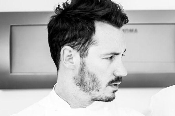 Le chef pâtissier du Meurice, à Paris, Cédric Grolet.