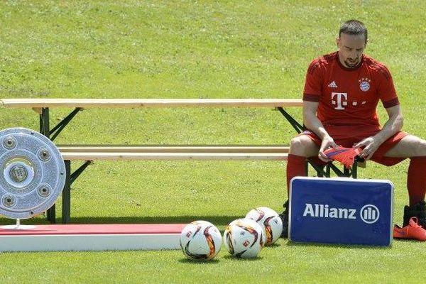 Franck Ribéry le 16 juillet 2015.