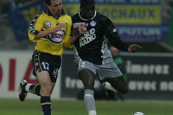 Lucien Aubey sous le maillot du TFC en 2003