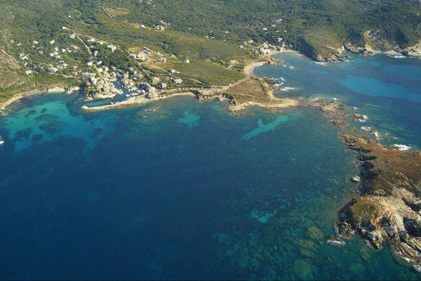 Le Parc naturel marin du cap Corse s'étend sur 6.830 km2.