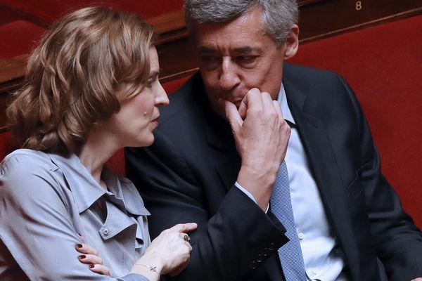 Henri Guaino et Nathalie Kosciusko-Morizet à l'Assemblée le 13 juillet 2016