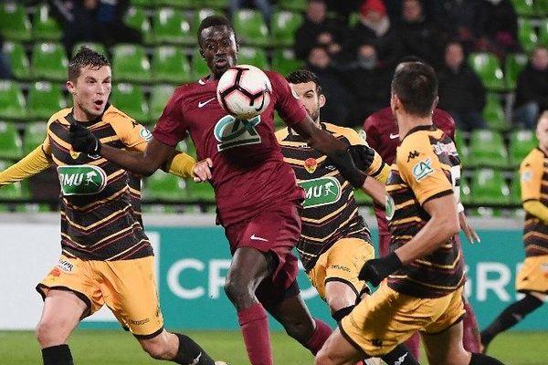 Les Orléanais contre Metz mardi soir. Victoire 0-1 !