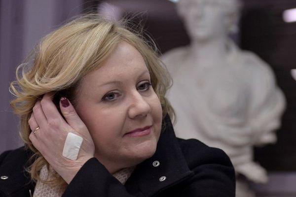 Sophie Montel, conseillère régionale frontiste de Bourgogne Franche-Comté mais également députée européenne
