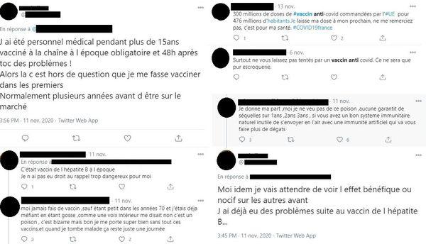 Sur les réseaux sociaux, les anti-vaccins sont de plus en plus nombreux.