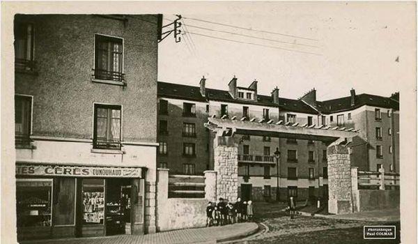 La cité Ernest Ruben dans les années 1930
