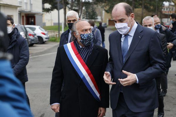 Olivier Dassault le 5 mars à Beauvais avec Jean Castex