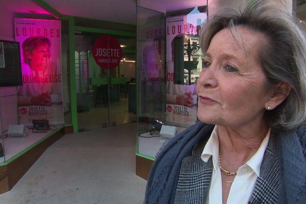 La maire sortante de Lourdes Josette Bourdeu arrivée en troisième position au 1er tour des élections municipales a décidé de retirer sa candidature du second tour