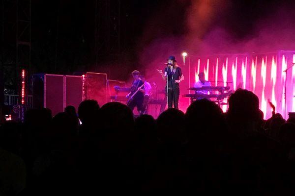 Le concert de Zazie à Ajaccio au Aiò festival, en 2019.