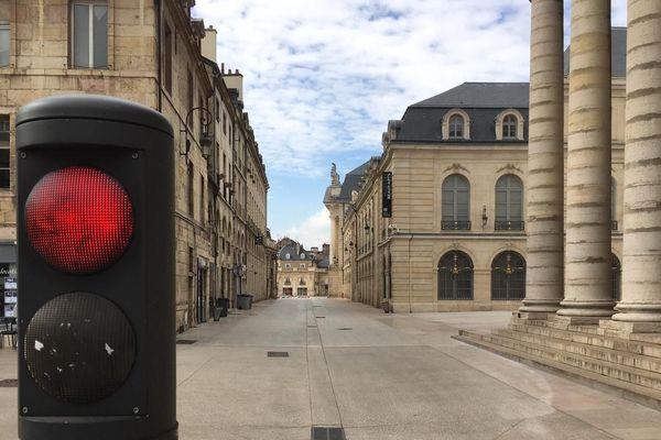 A Dijon, la ville à l'arrêt depuis mardi 17 mars