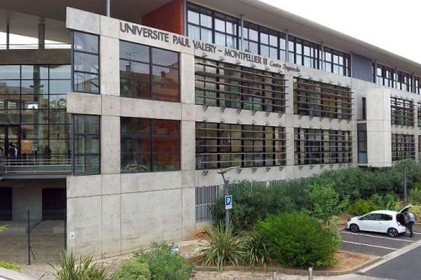 Béziers (Hérault) - l'antenne universitaire de la faculté de Montpellier UM3 - septembre 2013