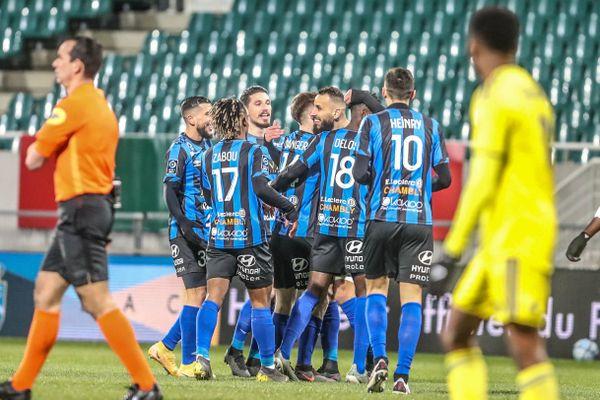 Le FC Chambly s'impose à Pau 3-1 lors de la 19 journée de Ligue 2