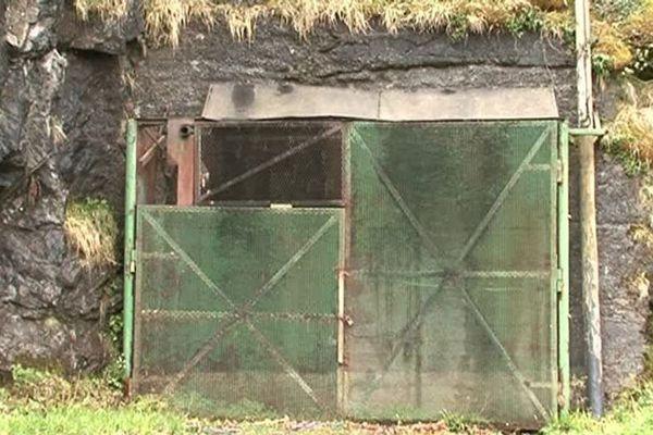 L'entrée de la mine de Salau, en Ariège