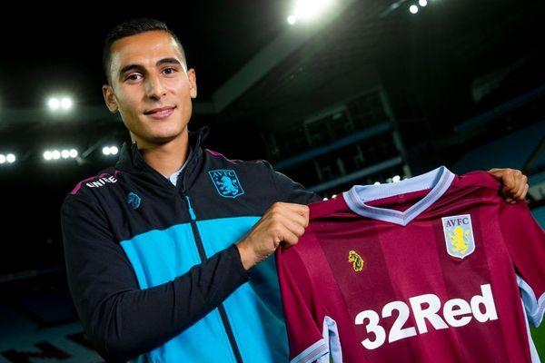 Anwar El Ghazi jouera cette saison sous les couleurs d'Aston Villa en Angleterre.