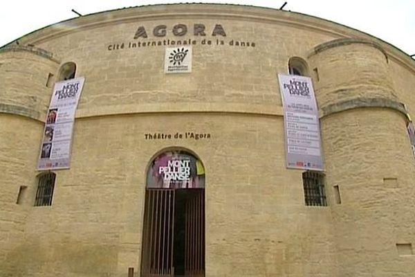 Montpellier - l'Agora accueille la Cité internationale de la danse - juin 2014.