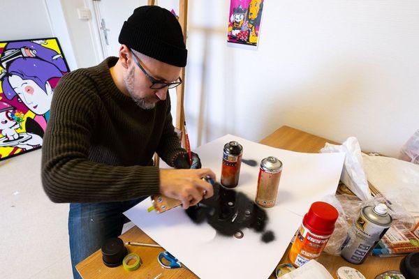 Juan Molina est artiste indépendant depuis 10 ans.