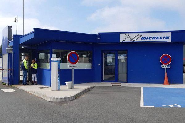 L'avenir de l'usine Michelin de La Roche-sur-Yon, en Vendée (ici le 17 septembre 2019), est incertain.