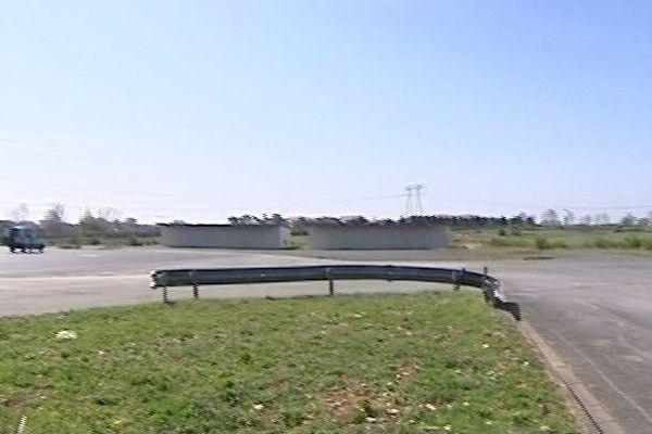 Les terrains de Lagord où sera installé le futur siège du Crédit Agricole Charente-Maritime/Deux-Sèvres