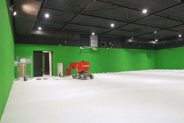 Les nouveaux studios seront équipés de technologies de pointe.