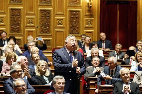 Hémicycle du Sénat, Plais du Luxembourg, Paris, 25 Juillet 2017