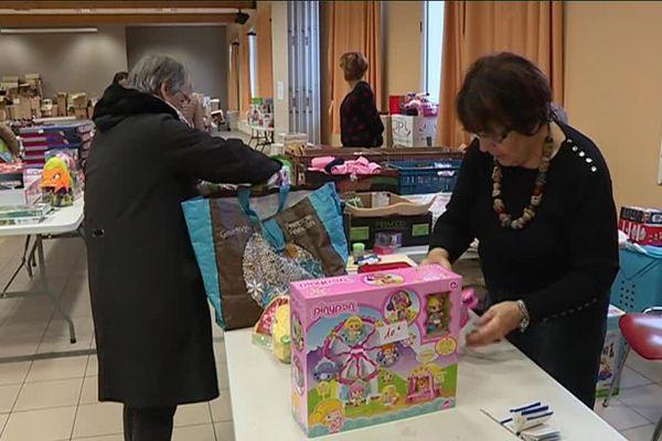 Noël solidaire du Secours Populaire à Besançon