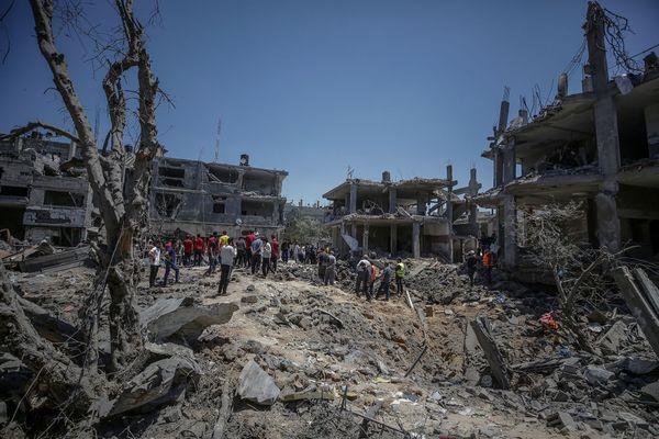 Gaza, le 14 mai 2021