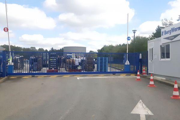 Les salariés du site corrézien de BorgWarner entament un blocage de l'usine ce mercredi 30 septembre 2020.