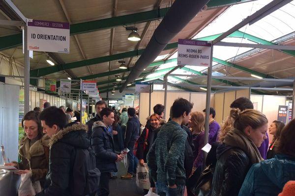 Le salon de l'Etudiant se tient à Rouen jusqu'au 10 janvier au parc des Expositions.