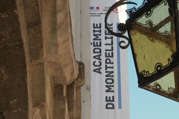 Le rectorat de l'académie à Montpellier, le jeudi 27 août 2020.
