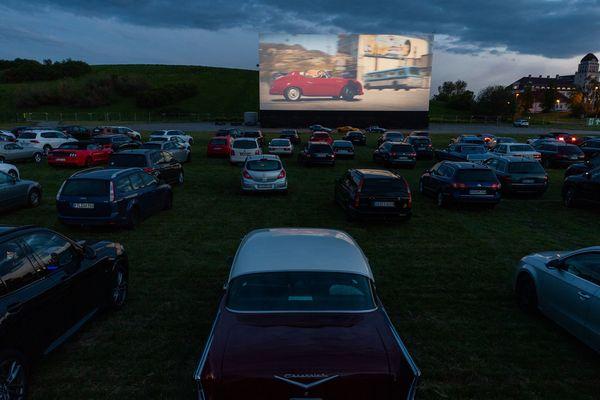 Les cinémas fermés, le drive-in fait son grand retour dans plusieurs villes de France dont Abbeville dans la Somme (Image d'illustration)