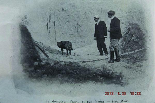 """Le journal """"Le Matin"""" avait publié une photo de la hyène qu'il avait envoyé sur les traces du curé de Châtenay pour tenter de retrouver son cadavre."""