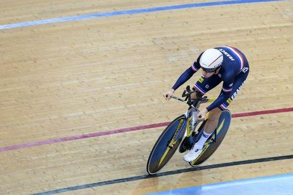 Le cycliste sur piste Corentin Ermenault