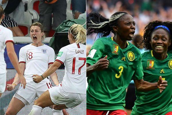 Angleterre-Cameroun, une belle opposition à Valenciennes entre deux grandes nations de football.