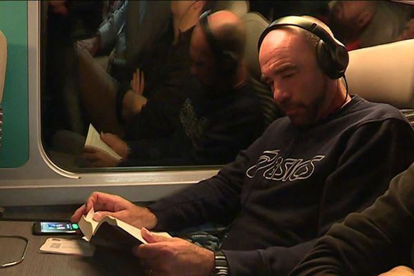 Sébastien Morvan fait partie des 2 300 habitués du TGV Atlantique qui vivent à Nantes et travaillent à Paris.