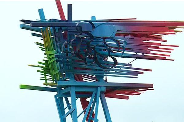 Sculpture de l'artiste Arne Quinze