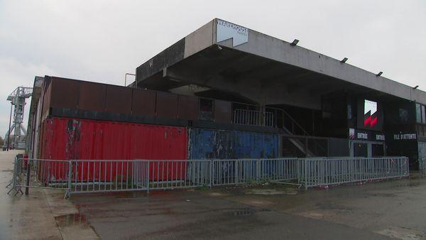 le Warehouse situé au Hanger à Bananes à Nantes est la plus grande boite de nuit de tout l'Ouest