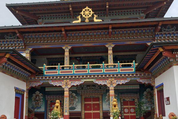 Le temple bouddhiste de La Boulaye est ouvert toute l'année aux visiteurs.