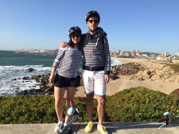 Laura et Nicolas, à Porto