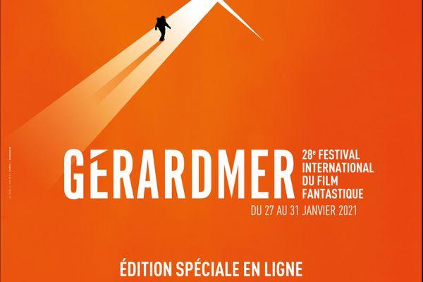 L'affiche du Festival de Gérardmer 2021.