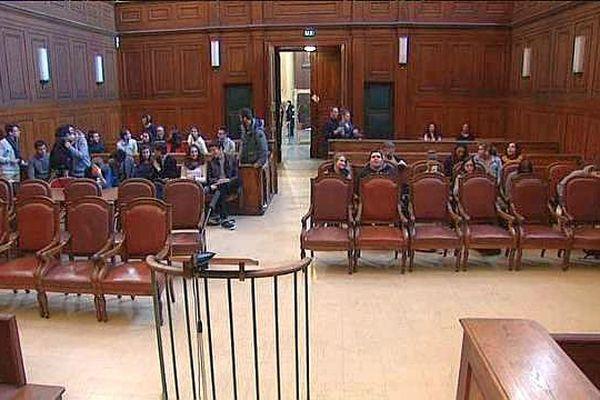 Montpellier - la cour d'Assises - novembre 2015.
