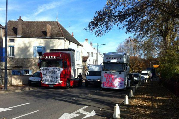 Les forains sont en colère contre la mairie de Beaune.