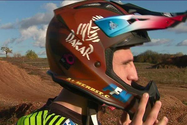 A 25 ans, Charlie Herbst participe à son premier Dakar.